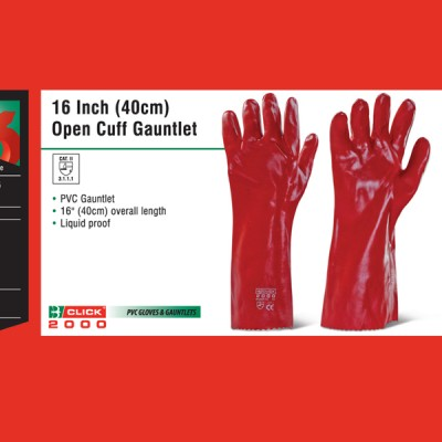 16 Inch (40cm) Open Cuff Gauntlet