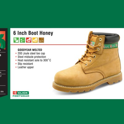 6 Inch Boot Honey