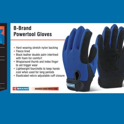B-Brand Powertool Gloves