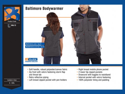 Baltimore Bodywarmer