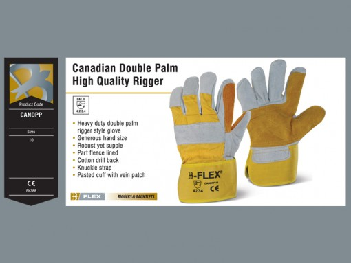Canadian Double Palm High Quality Rigger