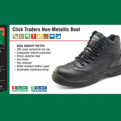 Click Traders Non-Metallic Boot