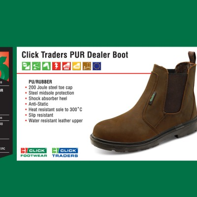 Click Traders PUR Dealer Boot