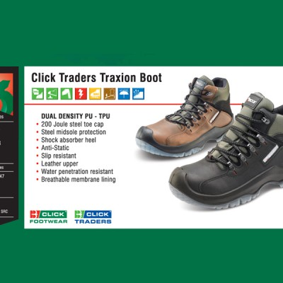 Click Traders Traxion Boot