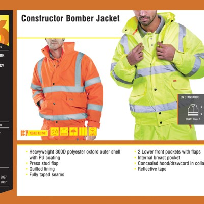 Constructor Bomber Jacket