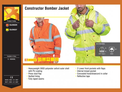 Constructor Bomber Jacket