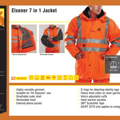 Elsener 7 in 1 Jacket