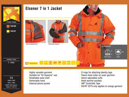 Elsener 7 in 1 Jacket