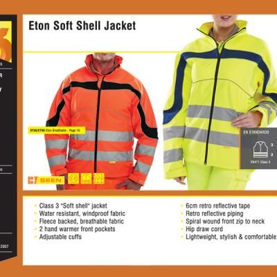 Eton Soft Shell Jacket