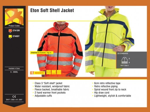 Eton Soft Shell Jacket