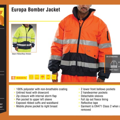 Europa Bomber Jacket