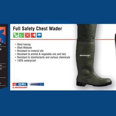 Full Safety Chest Wader