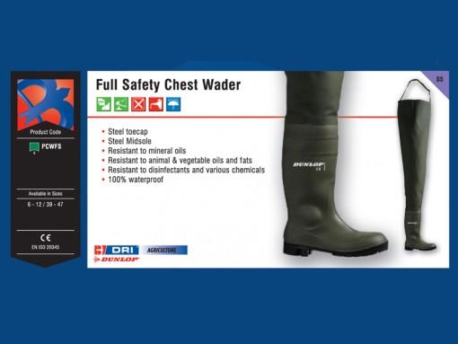 Full Safety Chest Wader
