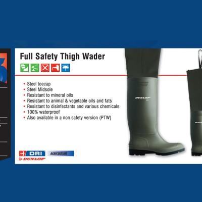 Full Safety Thigh Wader