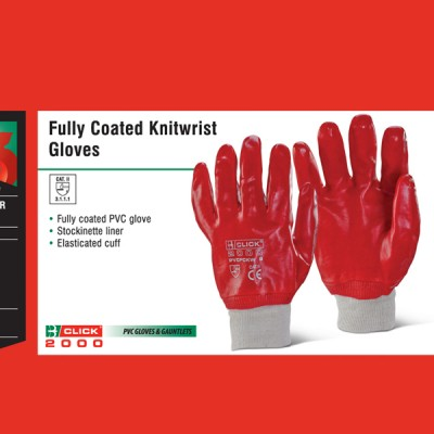 Fully Coated Knitwrist Gloves
