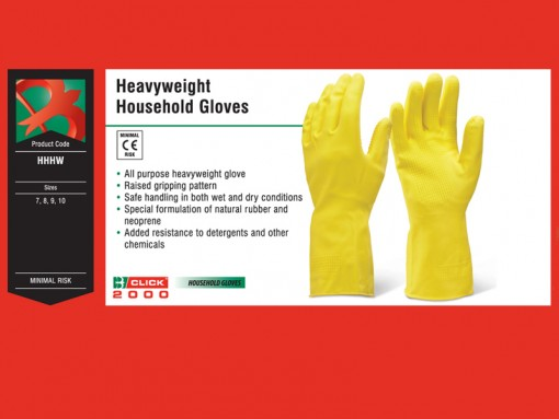 Heavyweight Household Gloves Black