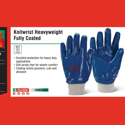 Knitwrist Heavyweight Fully Coated