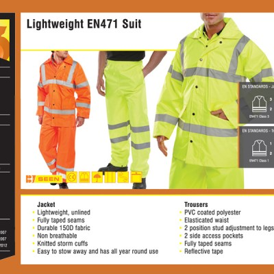 Lightweight EN471 Suit
