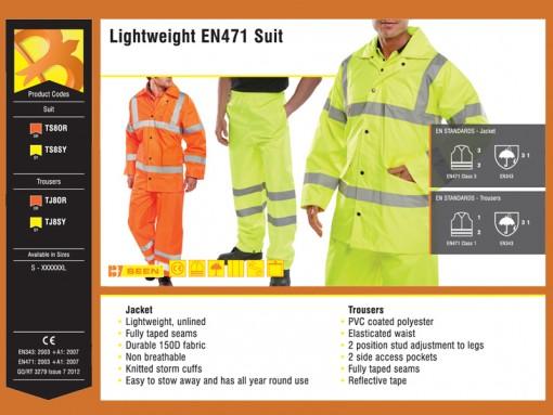 Lightweight EN471 Suit