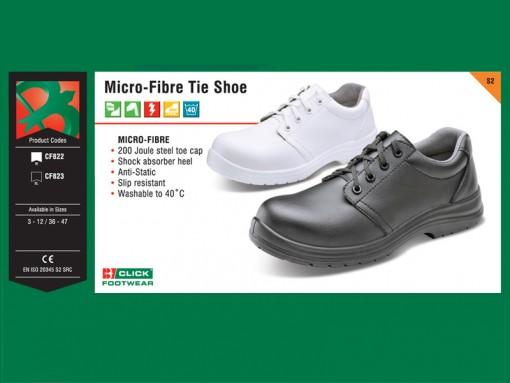 Micro-Fibre Tie Shoe