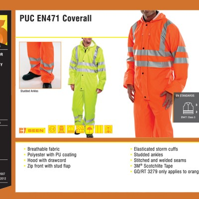 PUC EN471 Coverall