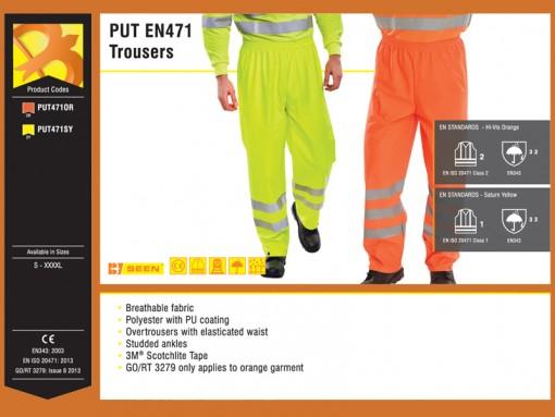 PUT EN471 Trousers