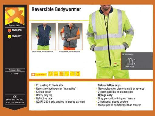 Reversible Bodywarmer