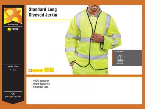 Standard Long Sleeved Jerkin