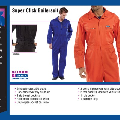 Super Click Boilersuit