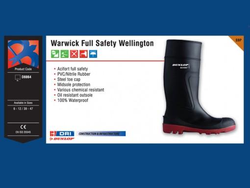 Warwick Full Safety Wellington