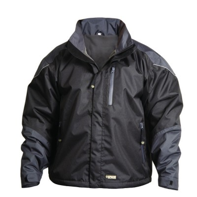 Black Grey All Season Work Jacket