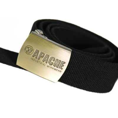 Black Polyester Belt