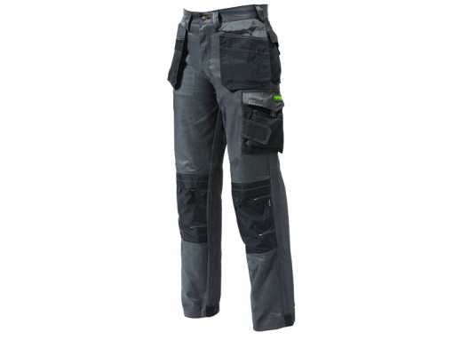 Black Pro-Twill Work Trouser