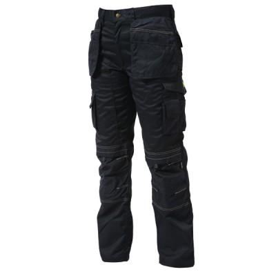Knee Pad Holster Trouser Black