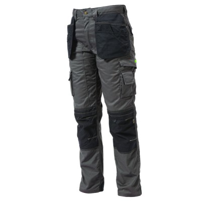 Knee Pad Holster Trouser Grey