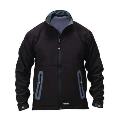 Soft Shell Black Jacket