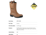Tan PVC waterproof rigger boot AP 312SM.jpg