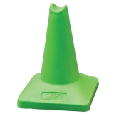 30cm 12 Sand Weighted Sports Cone - Green.jpg